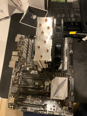 MOTHERBOARD WITH RAM AND CPU for Sale in Frederick, MD