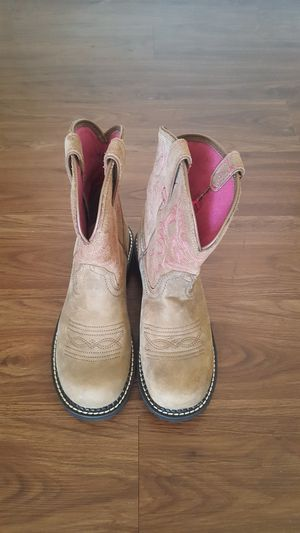 New Ariat Fat Baby Brown Bomber Boots for Sale in Dallas, TX