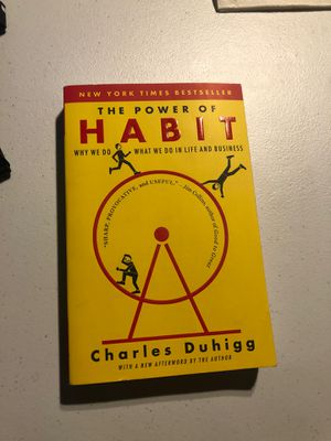 The Power of Habit by Charles Duhigg for Sale in Fullerton, CA