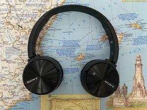 Sony MDR-ZX330BT Wireless Bluetooth Headphones for Sale in San Diego, CA