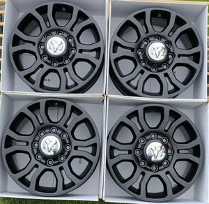 "18"" Dodge Ram 2500 Black wheels / Rims for Sale in Huntington Beach, CA"