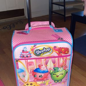 Shopkins Luggage With Over 250 Shopkins Included for Sale in Boston, MA