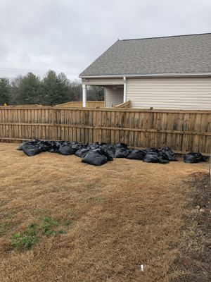 FREE 30 Bags of dirt. Red clay dug out to make room for playground. for Sale in Greer, SC
