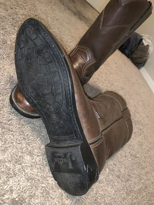 Justin Basics Work Boots Size 9 for Sale in Fresno, CA