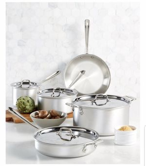 Master Chef All Clad 9 piece set for Sale in Concord, NC