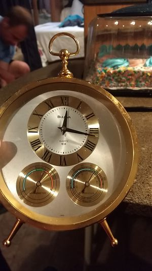 Vintage Bulova clock for Sale in Greenville, SC