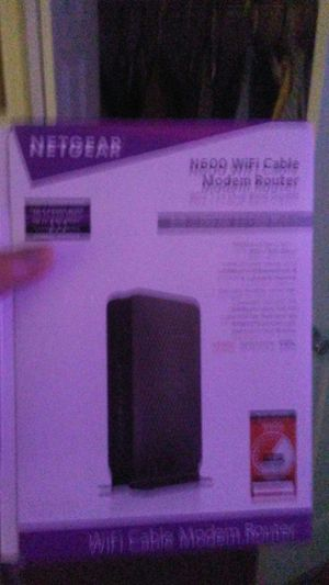 Netgear Modem and router for Sale in Chatham, IL