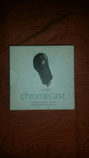 Chromecast - Send Video To TV From Phone, Tablet or Laptop. for Sale in Clearwater, FL