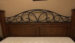 King Size Bed Frame for Sale in Gibsonton, FL
