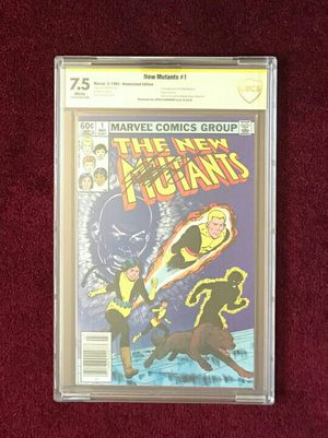 The New Mutants #1 signed and graded comic book for Sale in Fort Washington, MD