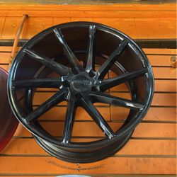 All 4 Black Vossen Rims Size 20 for Sale in The Bronx,  NY