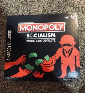 Monopoly socialism board game NEW for Sale in Shakopee, MN