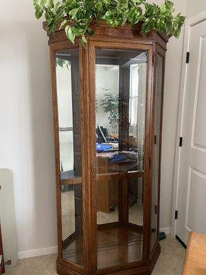 Beautiful curio cabinet for Sale in Osseo, MN