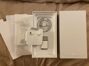 New Authentic Apple Lightning EarPods, Wall Charger, Cable and iPhone 7 Plus BOX for Sale in San Diego, CA