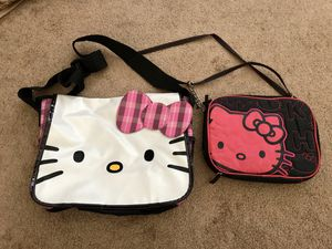 HELLO KITTY HAND / BOOK BAGS. for Sale in Bellflower, CA