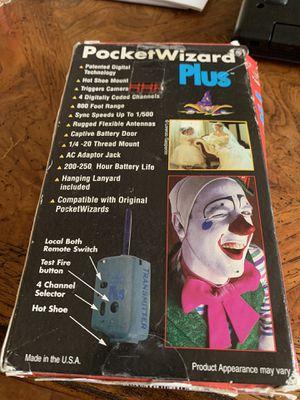 Photogrphy, pocket wizard plus for Sale in Cerritos, CA