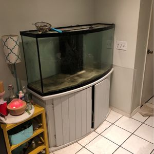 75 Gallon Bow Front Aquarium for Sale in La Habra, CA