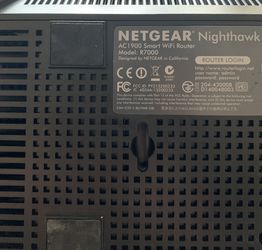 Netgear Nighthawk R7000 Wireless Router for Sale in Tustin,  CA
