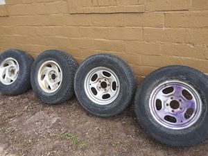Ford f150 wheels and tires for Sale in Salt Lake City, UT