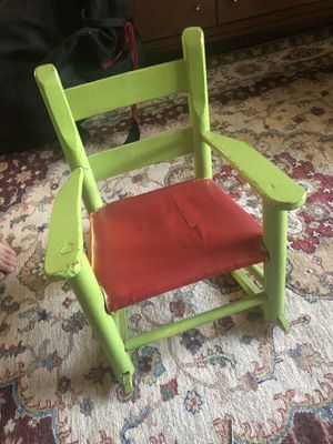 Kids rocking chair for Sale in Garland, TX