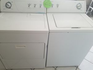 Commercial Quality Super Capacity plus Whirlpool top load washer and dryer for Sale in Dallas, TX