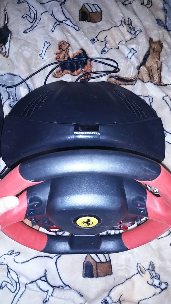 Thrustmaster ferrari 458 spider racing wheel for xbox 360 for Sale in Grove, OK - OfferUp
