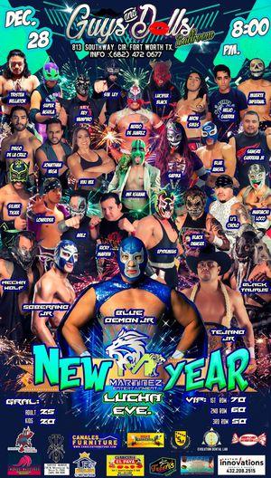 Lucha libre Mexicana sabado 28 de diciembre for Sale in Arlington, TX