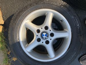 Bmw all 4wheels 4 Rims 15 inches for only $200 for Sale in Ashburn, VA