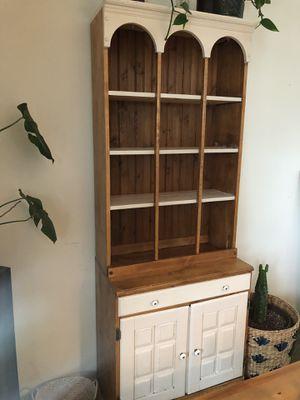 Hutch/cabinet/bookshelf for Sale in Snohomish, WA