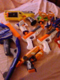 Nerf Guns, Bullets & Nerf Stratobow! for Sale in Everett,  WA