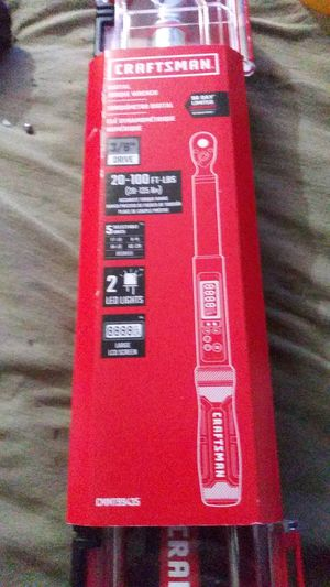 Craftsman Digital torque wrench for Sale in Antioch, CA
