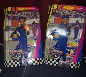 50th Anniversary Nascar Barbie Doll NIB for Sale in Milford, DE