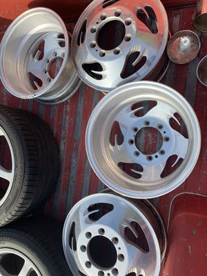 "Chevy dually wheels 16"" for Sale in Fullerton, CA"