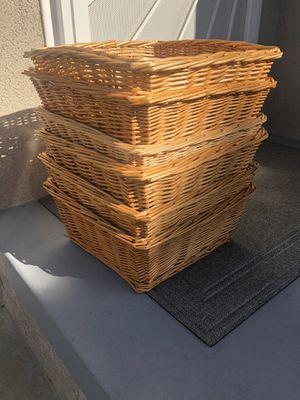 Wicker Baskets for Sale in Garden Grove, CA