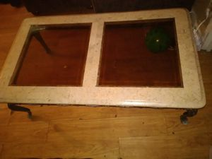 White marble coffee table for Sale in Wichita, KS