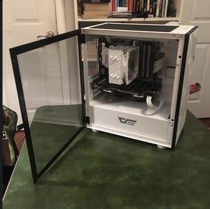 White Computer Build (R5-1600/RX-480) for Sale in Pasadena, CA