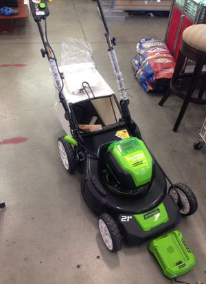 Electric lawn mower🏕🏞💚💚💚💚 for Sale in Los Angeles, CA