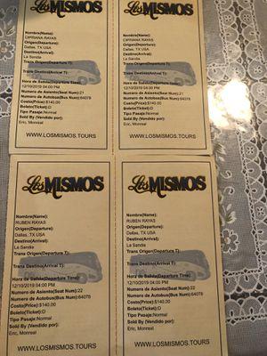 Boletos para Guanajuato for Sale in Dallas, TX