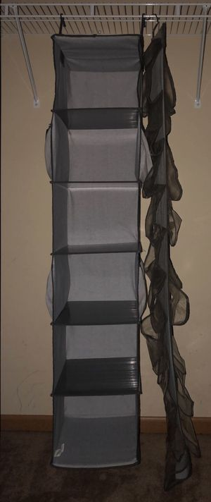 SET of 2 Hanging Closet Organizers for Sale in Columbus, OH