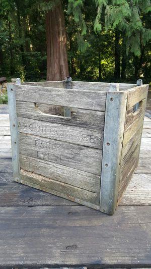 Antique Milk Crate for Sale in Arlington, WA