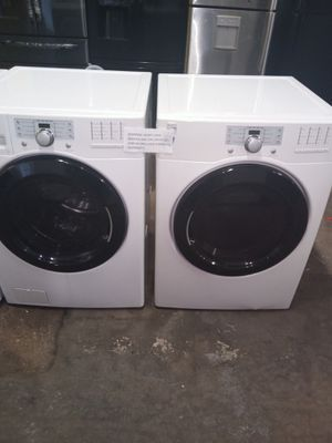 KENMORE FRONT LOAD WASHER AND GAS DRYER SET WORKING PERFECT for Sale in Baltimore, MD