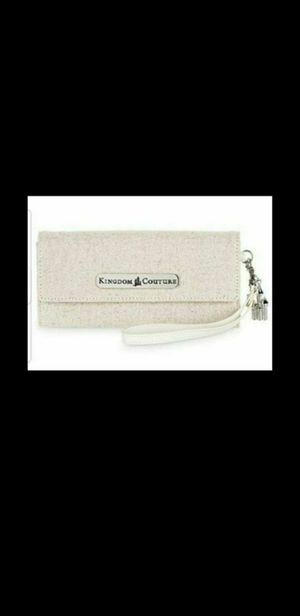 Kingdom couture collection linen wallet for Sale in South Gate, CA
