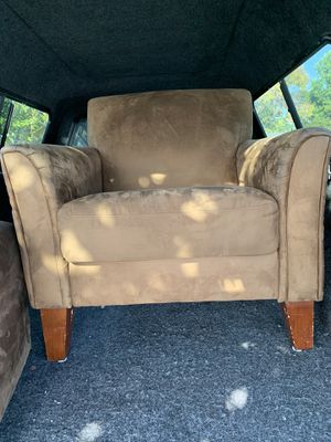 Chair & matching ottoman for Sale in San Jose, CA