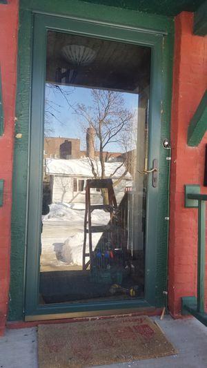 """36"""" storm door for Sale in Saint Michael, MN"""