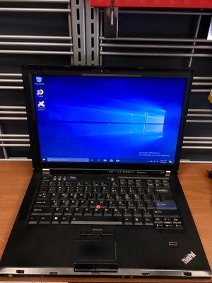 Lenovo Laptop 160GB 8GB 2 Duo @2.4 GHz Thinkpad T400 for Sale in Lynn, MA