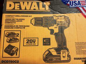 Dewalt Compact Drill/Driver Kit for Sale in Mesa, AZ
