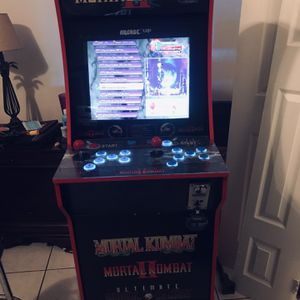 Mortal Kombat cab with riser 3399 games for Sale in Hollywood, FL