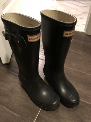 Hunter boots size 2 kids for Sale in Franklin, TN