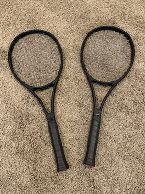 Wilson Pro Staff 97 v11 (2x) tennis rackets for Sale in Phoenix, AZ