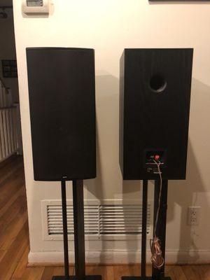 2x Boston Acoustic Bookshelf Speakers CR9 for Sale in Arlington, VA
